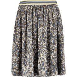 Spódniczki trapezowe: Betty & Co Spódnica trapezowa classic blue/yellow