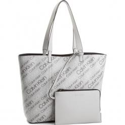 Torebka CALVIN KLEIN - Inside Out Large Sho K60K604301  910. Białe torebki klasyczne damskie Calvin Klein, ze skóry ekologicznej, duże. W wyprzedaży za 479,00 zł.