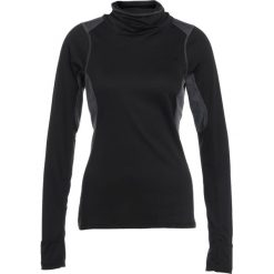The North Face BRAVE THE COLD  Koszulka sportowa dark grey heather. Różowe topy sportowe damskie marki The North Face, m, z nadrukiem, z bawełny. W wyprzedaży za 174,50 zł.