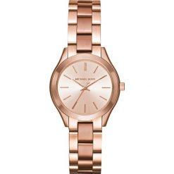 Zegarek MICHAEL KORS - Mini Slim Runway MK3513 Rose Gold/Rose Gold. Czerwone zegarki damskie Michael Kors. Za 950,00 zł.