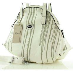 Shopper bag damskie: Oryginalna torebka damska biała