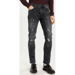 Only & Sons ONSLOOM Jeansy Slim Fit dark grey denim. Brązowe jeansy męskie marki Only & Sons, l, z poliesteru. Za 169,00 zł.