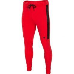 Joggery męskie: Spodnie dresowe męskie SPMD224 - czerwony