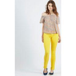 Bluzki asymetryczne: Bluzka Melon wzorzysta kolorowa