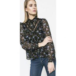 Vero Moda - Koszula. Szare koszule damskie marki Vero Moda, m, z poliesteru, casualowe, z długim rękawem. W wyprzedaży za 69,90 zł.