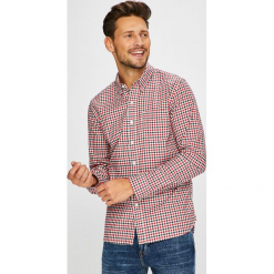 Levi's - Koszula. Brązowe koszule męskie na spinki marki Levi's®, l, w kratkę, z bawełny, button down, z długim rękawem. Za 279,90 zł.