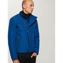 Pikowana kurtka - Granatowy. Niebieskie kurtki damskie pikowane Reserved. Za 199,99 zł.