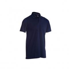 Koszulka polo do golfa 500 męska. Niebieskie koszulki polo marki QUECHUA, m, z elastanu. Za 39,99 zł.