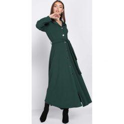 Sukienki: Ciemnozielona Sukienka Tract