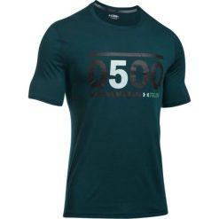 Under Armour Koszulka męska 5am Run Tee zielona r. M (1301781). Szare koszulki sportowe męskie marki Under Armour, l, z dzianiny, z kapturem. Za 101,16 zł.