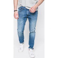 Wrangler - Jeansy Bryson. Niebieskie jeansy męskie skinny Wrangler, z bawełny. Za 299,90 zł.