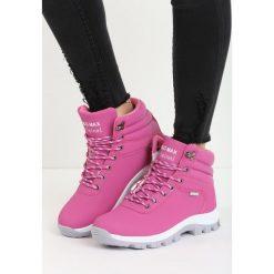 Różowe Traperki Say It Right. Czerwone buty zimowe damskie marki Born2be, ze skóry, za kostkę. Za 99,99 zł.