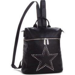 Plecak JENNY FAIRY - RC15323 Black. Czarne plecaki damskie marki Jenny Fairy, ze skóry ekologicznej. Za 119,99 zł.