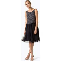 Marie Lund - Damska sukienka wieczorowa, niebieski. Niebieskie sukienki balowe marki Marie Lund, z szyfonu. Za 329,95 zł.