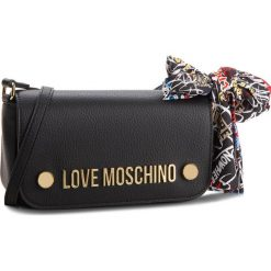 Torebka LOVE MOSCHINO - JC4126PP16LV0000 Nero. Czarne listonoszki damskie Love Moschino, ze skóry ekologicznej. W wyprzedaży za 459,00 zł.