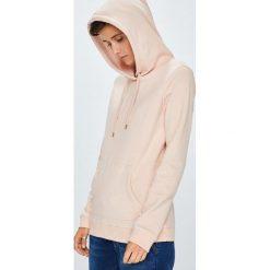 Roxy - Bluza. Szare bluzy rozpinane damskie Roxy, m, z nadrukiem, z bawełny, z kapturem. W wyprzedaży za 169,90 zł.