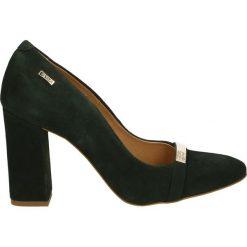 Czółenka - 2723 CAM VERD. Czarne buty ślubne damskie Venezia, ze skóry. Za 189,00 zł.