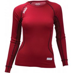 Swix Koszulka Funkcyjna Damska Racex Czerwony S. Czerwone bluzki sportowe damskie marki numoco, l. Za 149,00 zł.