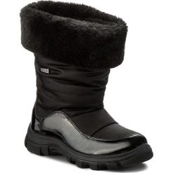 Kozaki dziewczęce: Śniegowce NATURINO – Volga 0013001240.01.9101 Nero F. Do Nero S