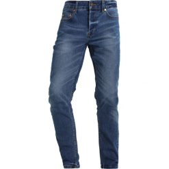 Only & Sons ONSLOOM  Jeansy Slim Fit medium blue denim. Brązowe jeansy męskie marki Only & Sons, l, z poliesteru. Za 169,00 zł.