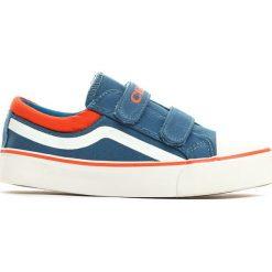 Niebieskie Trampki Motley Rim. Niebieskie buty sportowe chłopięce Born2be, z materiału, z okrągłym noskiem. Za 39,99 zł.