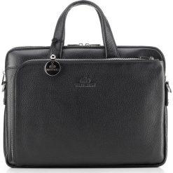 Torba na laptopa 20-3-041-11. Czarne torby na laptopa marki Wittchen, w paski, z tłoczeniem. Za 1399,00 zł.