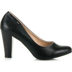 Buty ślubne damskie: Klasyczne czółenka na słupku FLEUR
