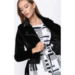 Sukienki: Czarno-Biała Sukienka Azorella