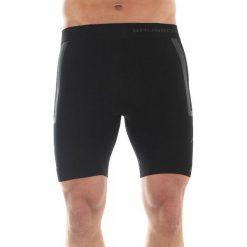 Spodenki sportowe męskie: Brubeck Spodenki męskie Fitness czarne r. L (LB10070)