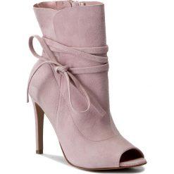 Buty zimowe damskie: Botki L37 - Rumble Z1 Różowy