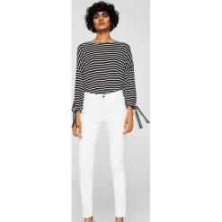 Mango - Jeansy Belle2. Białe jeansy damskie rurki Mango, z podwyższonym stanem. Za 139,90 zł.