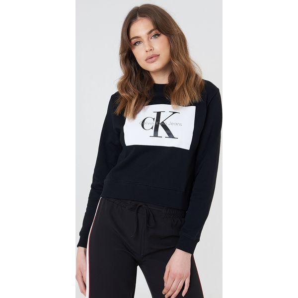 e7f147a04afc3 Calvin Klein Bluza Hebe True Icon - Black - Bluzy damskie . Za 404 ...