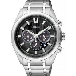 ZEGAREK CITIZEN Titanium CA4010-58E. Czarne zegarki męskie CITIZEN, ze stali. Za 1470,00 zł.