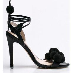 Answear - Sandały Secret. Szare sandały damskie marki ANSWEAR, z gumy. W wyprzedaży za 69,90 zł.