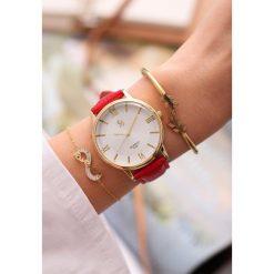 Czerwony Zegarek Don't Promise. Czerwone zegarki damskie marki other. Za 29,99 zł.