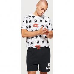 Piżama dwuczęściowa Johnny Bravo - Czarny. Czarne piżamy męskie marki Cropp, l. Za 89,99 zł.