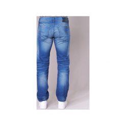 Jeansy straight leg G-Star Raw  3301 STRAIGHT. Czarne jeansy męskie marki G-Star RAW, l, z materiału, retro. Za 370,30 zł.