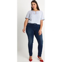Bluzki asymetryczne: Persona by Marina Rinaldi STRIPED BLOUSE Bluzka blue