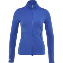 Adidas by Stella McCartney MIDLAYER Kurtka sportowa bold blue. Niebieskie kurtki damskie softshell adidas by Stella McCartney, l, z elastanu. Za 499,00 zł.