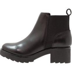 ALDO JANOWITZ Ankle boot black. Czarne botki damskie na zamek ALDO, z materiału. Za 459,00 zł.