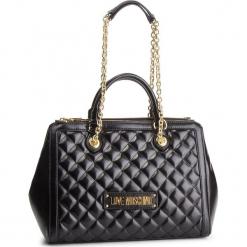 Torebka LOVE MOSCHINO - JC4000PP17LA0000 Nero. Czarne torebki klasyczne damskie Love Moschino, ze skóry ekologicznej. Za 959,00 zł.