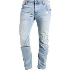 GStar ARC 3D SLIM Jeansy Slim Fit blue. Niebieskie rurki męskie marki G-Star. W wyprzedaży za 447,30 zł.