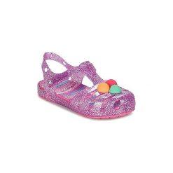 Sandały Dziecko  Crocs  CROCS ISABELLA NOVELTY SANDAL. Fioletowe sandały dziewczęce marki Crocs. Za 104,30 zł.