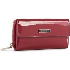 Duży Portfel Damski MONNARI - PUR1021-005 Red. Czerwone portfele damskie Monnari, z lakierowanej skóry. W wyprzedaży za 149,00 zł.
