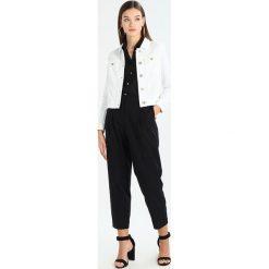 Bomberki damskie: Taifun Kurtka jeansowa off white