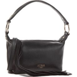Torebka GUESS - HWVG45 71750 BLA. Czarne torebki klasyczne damskie Guess, z aplikacjami, ze skóry ekologicznej. Za 349,00 zł.