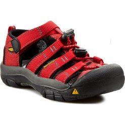 Sandały KEEN - Newport H2 1012300 Ribbon Red/Gargoyle. Czerwone sandały chłopięce marki Keen, z gumy. Za 229,95 zł.