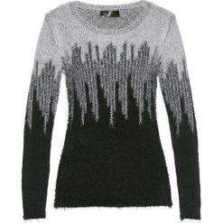 Swetry klasyczne damskie: Sweter bonprix czarno-biały