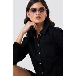 Le Specs Okulary przeciwsłoneczne Prince - Gold. Czarne okulary przeciwsłoneczne damskie aviatory marki Le Specs. Za 283,95 zł.