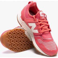 New Balance - Buty WRL247TF. Czerwone buty sportowe damskie marki New Balance, z gumy. W wyprzedaży za 299,90 zł.